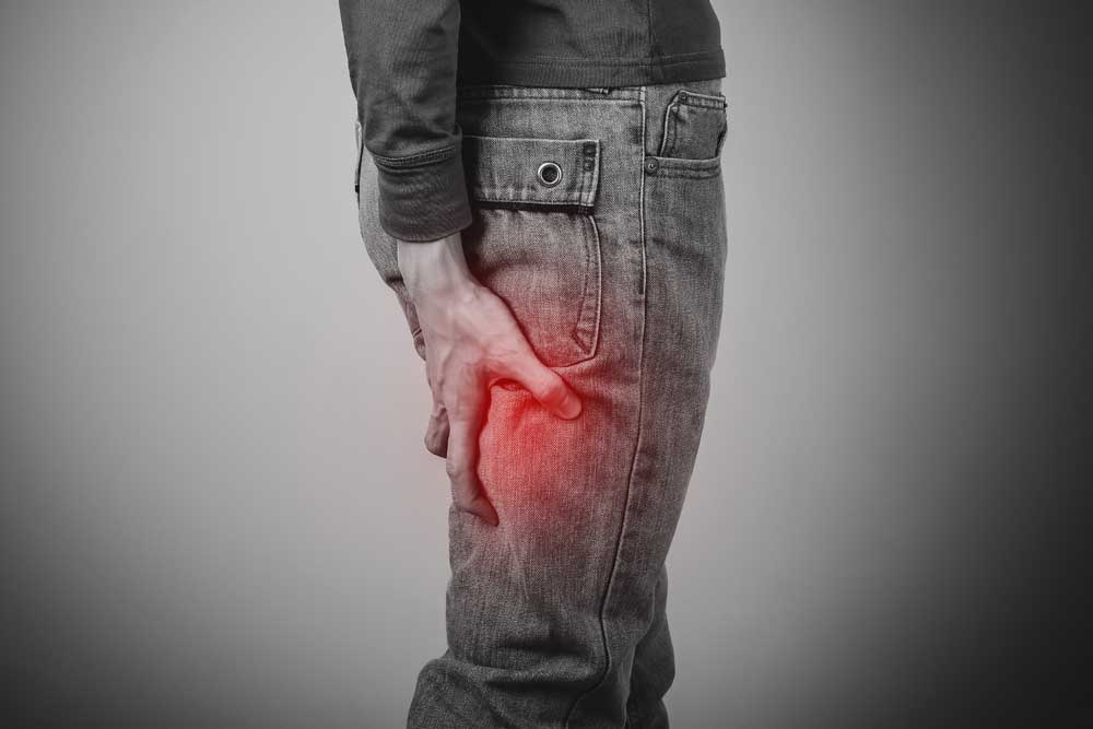 Leg pain treatment at Reed Chiropractic Clinic.